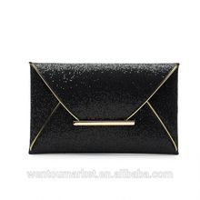 Womens Sequins Envelope Bag Evening Party Purse Clutch Handbag