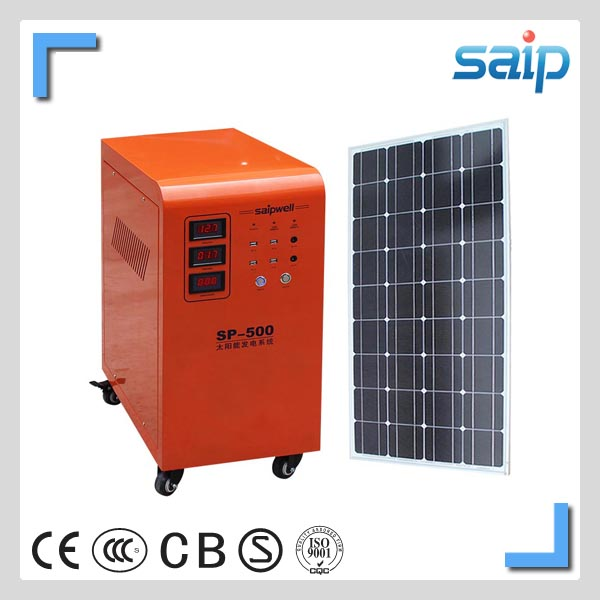 2014 high quality portable used solar generators for sale 300w (SPN-300)