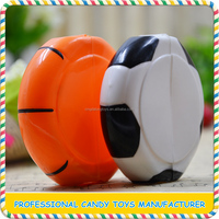 Funny plastic football and basketball candy toys for sale