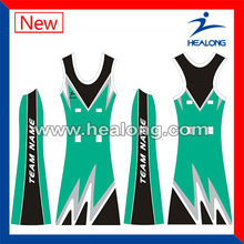 custom dresses sublimated netball bodysuit women netball dress