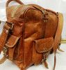 pure leather weekend bag/genuine leather travel bag/real leather luggage bag