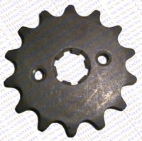 14 Tooth 420 428 520 530 17MM 20MM 50CC 70CC 90CC 110CC 125CC 150CC 200CC 250CC Sprocket Dirt Pit bike ATV Quad Buggy Parts