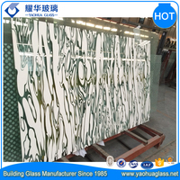 Ceramic Glass Silkscreen Tempered Glass Glass