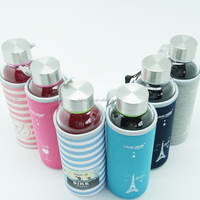 Newest TOP quality custom logo print neoprene insulated water bottle holder/water cooler