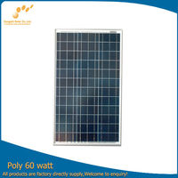 Poly solar panel with taiwan cells China 70w