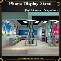 2016 hot sale phone display store furniture and mobile phone display stand
