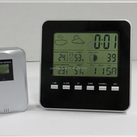 Eco-friendly OEM/ODM RF 433MHZ wireless weather station clock