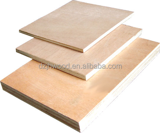 Manufacturing 19mm waterproof plywood furniture grade plywood 6mm thick plywood