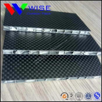 Factory direct sell carbon fiber honeycomb sheet panel plate with different material sandwich