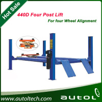 One Cylinder Hydraulic Car Lift 440D Alignment four post lift