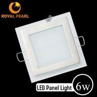 hot new products for 2015 led panel light hs code With glass cover