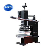 DP-HT180 hot foil press printing ribbon stamping machine for sale