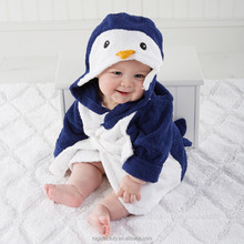 Wholesale High Quality Baby Robe Hooded Baby Bathrobe