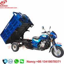 wholesale high quality Lifan 200cc engine 1.25m*1.8m carriage 3 wheel tricycle for adults