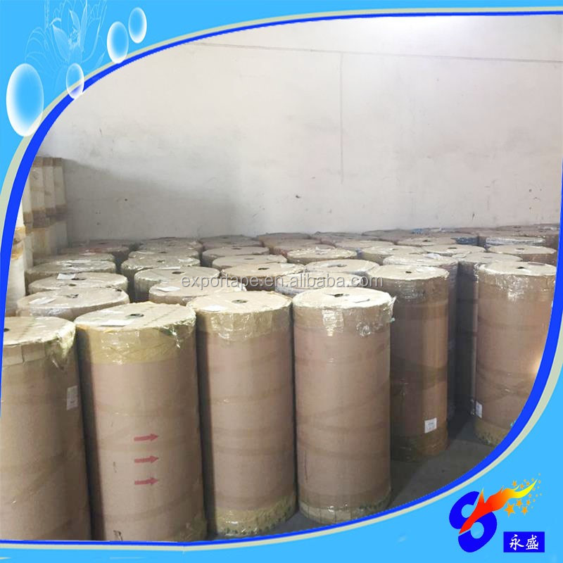 Bopp adhesive tape jumbo roll used for Carton sealing banding and strapping