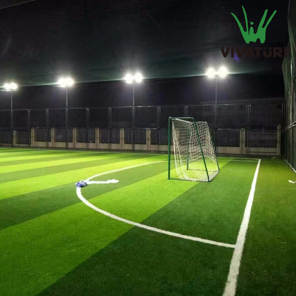 All Weather Vivaturf FIFA Standard Turf Artificial Grass For Football