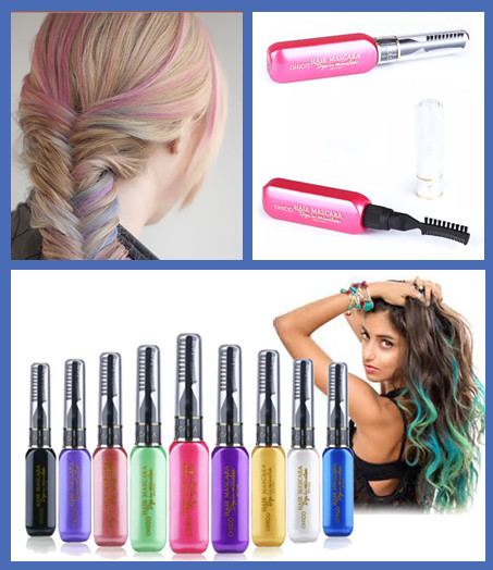 M530 Top quality temporary hair color private label hair mascara
