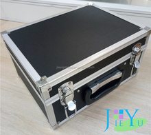 Professional black beauty makeup Aluminum cosmetic case
