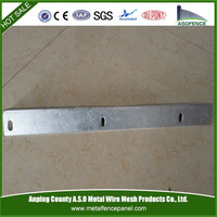 galvanized perforated steel angle iron