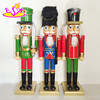 New style wooden baby nutcracker doll,Mini cheap christmas baby doll toy,Promotional colorful wooden baby doll toy W02A060