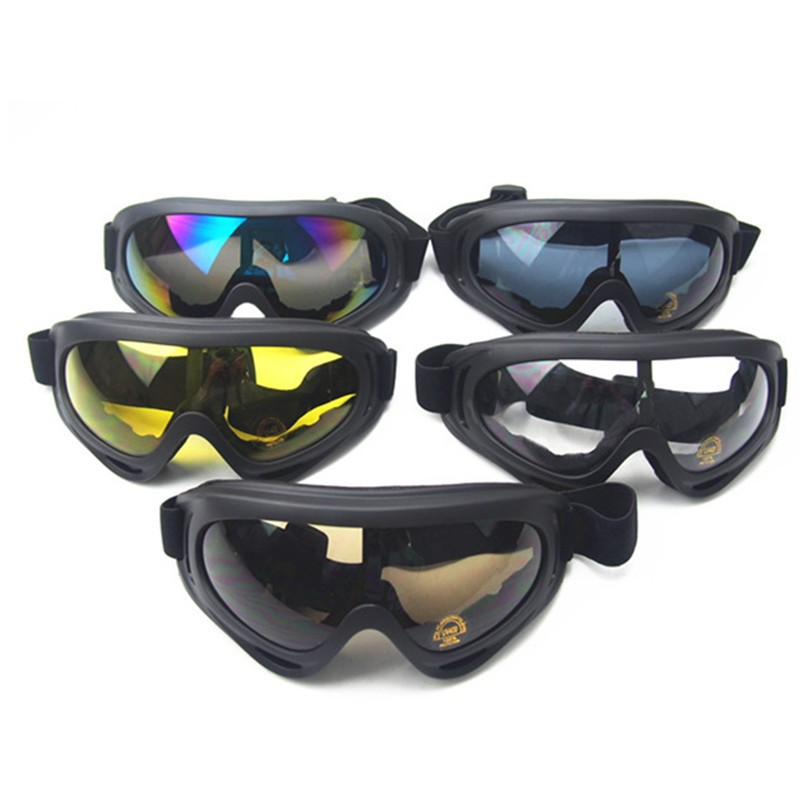 outdoor hiking glasses CS wargame paintball sun glasses military tactical X400 windproof glasses hunting protective goggles