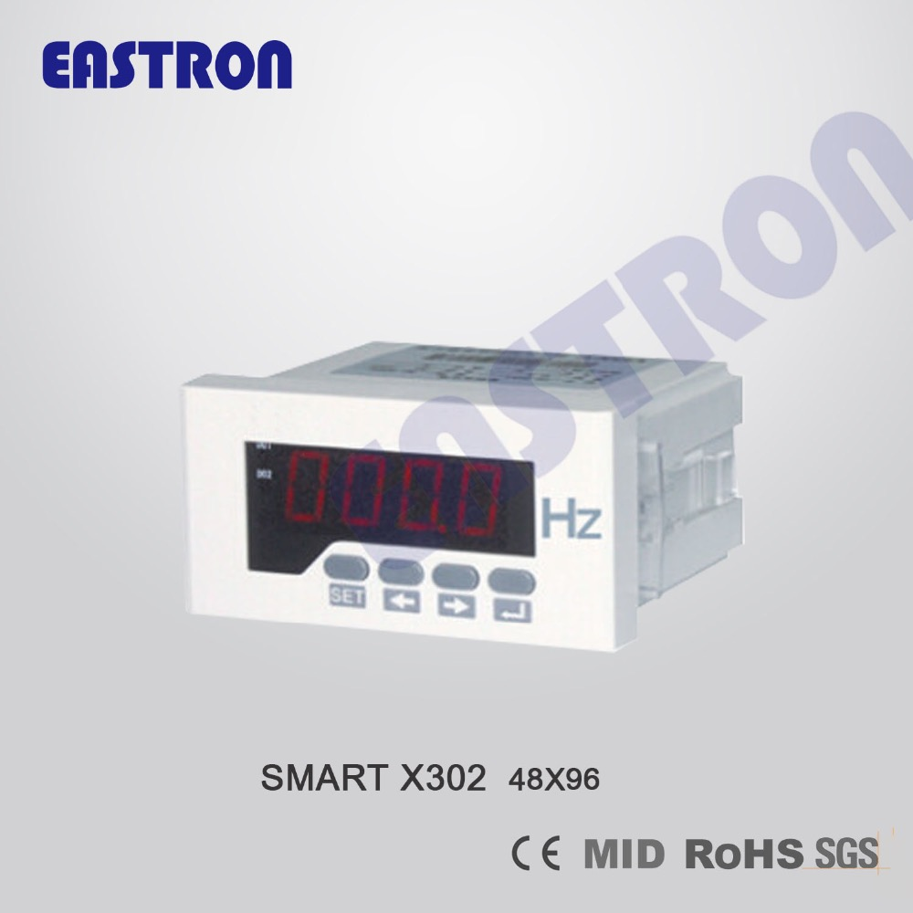 EASTRON Smart X302Hz Frequency Meter , Digital Hz meter, Panel Meter,96*96,72*72