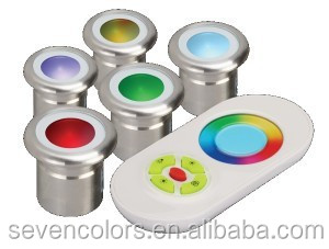 Color Box Pack RGB Color Changing Led Deck Lighting Sets Tube Available (SC-6*F103C)