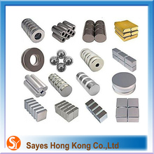 HOT sale permanent neodymium N35 magnet and ferrite magnet with different sizes