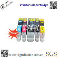 Refillable empty ink cartridge 550 551 for Canon ip7240