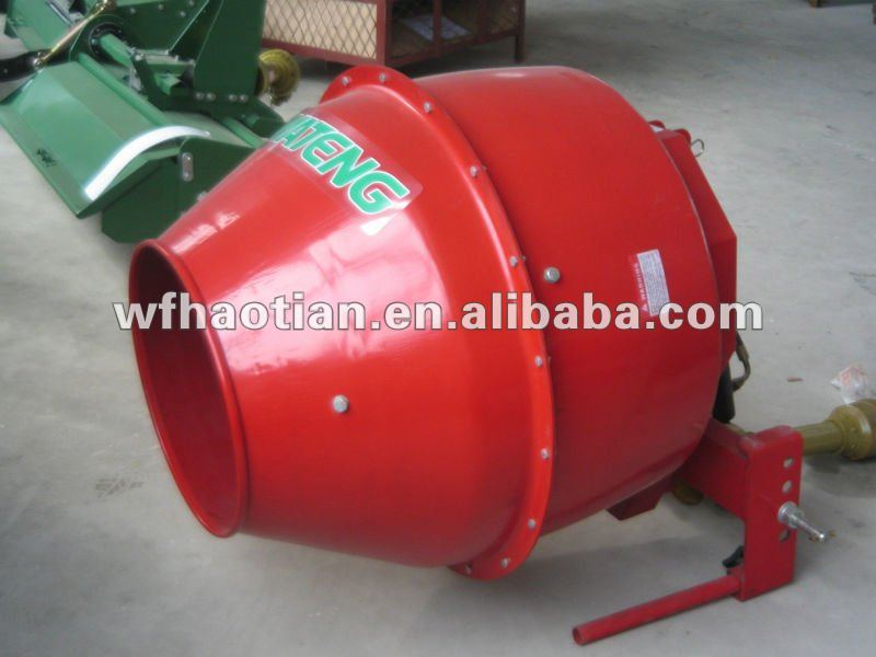 Tractor Mounted Cement Mixer ,for tractor PTO working