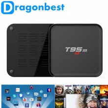 wholesale T95M android smart tv set top box s905 Quad Core tv smart box Google Android5.1 DragonBest 1GB 8GB tv