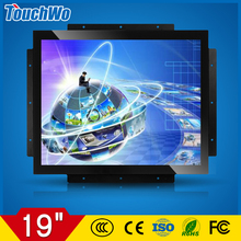 Guangzhou supplier 19 inch industrial touch monitor all in one PC 1280*1024 intel core processor i3 i5 i7