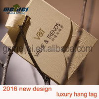 luxury hang tag,high quality hang tag printed in Guangzhou