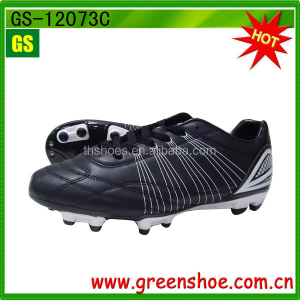Boys' Comfort Lace-up Outdoor Football Shoes