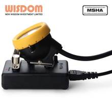 Wisdom KL5M LED miner safety cap lamp for underground safety