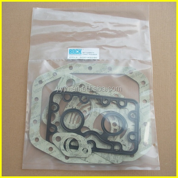 Bus air conditioning compressor Bock Complete Gasket Set FK40 Type K (80001-2)