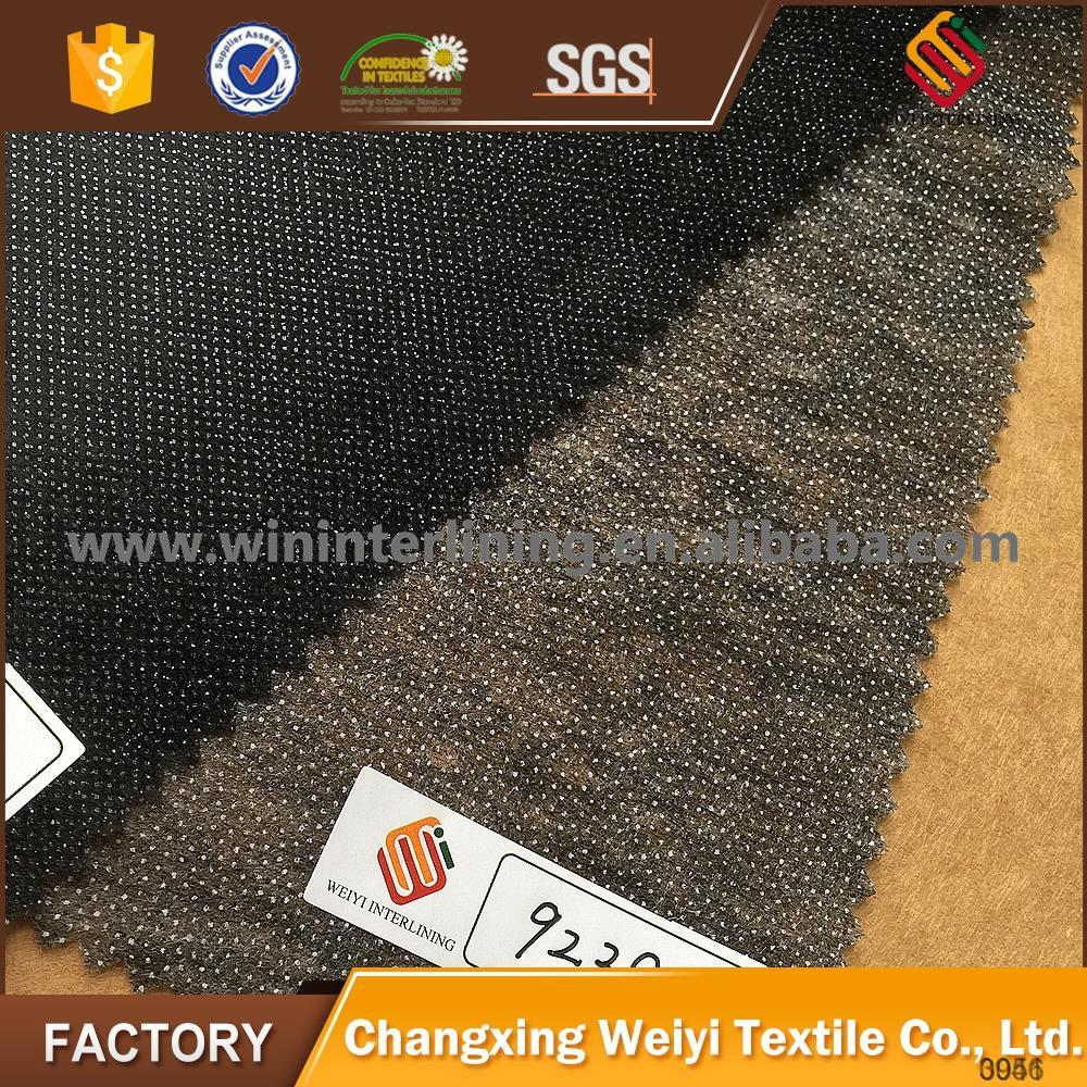 favorable nonwoven chemical fiber garment fusing interlining fabric