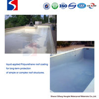 stadium roof material types waterproof coating polyurethane floor underlayment