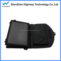 Popular Foldable Solar Power Bag 7W Solar Mobile Charger for Iphone