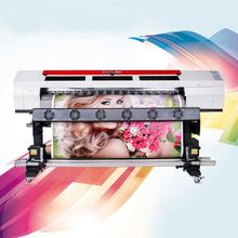 2017 hot sale dx7 head canvas China cheap 1.8m printer with 1440DPI high quality