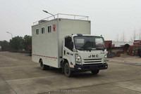 Customized JMC mobile food truck optional equiped with generater, refreigerator, cold drink machine, vendor stall, cooker, etc