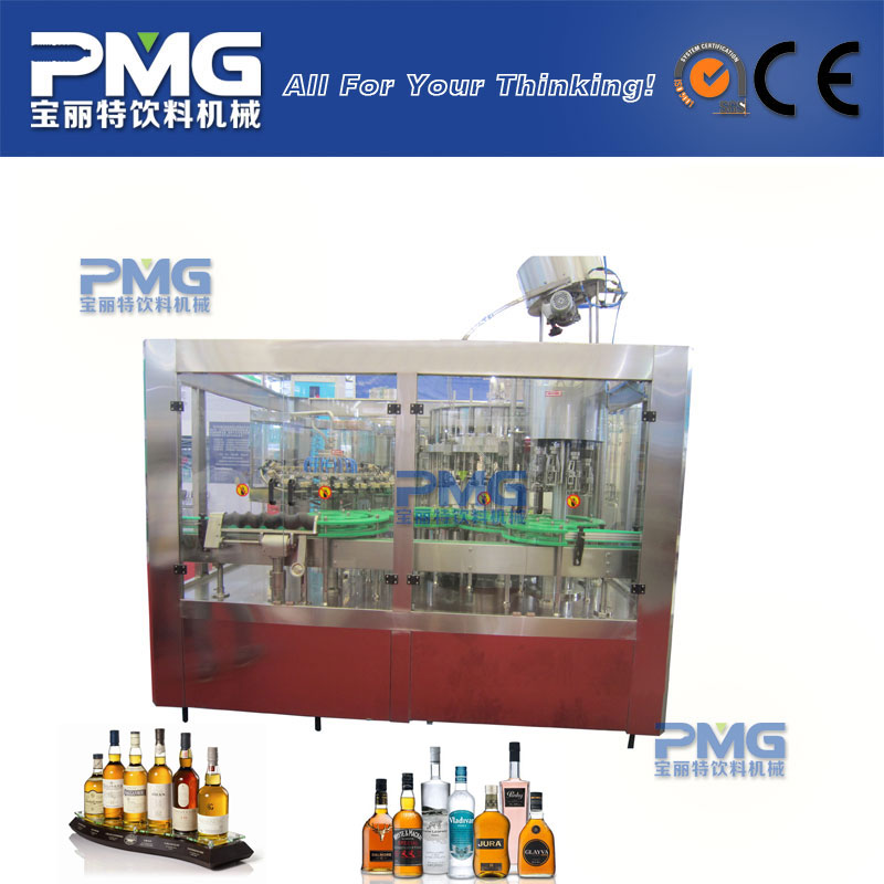 Surprising price sparkling wine filling making machine / alcohol production equipment
