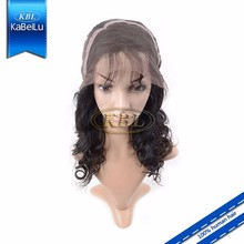 KBL-Perfect Lady white short curly hair wigs
