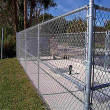 2017 Galvanzied Chain link fence with free sample
