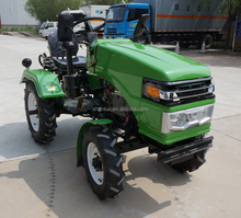 20156hot sale 15hp cheap multi-purpose mini tractor with implements rotary tiller plough trailer mower potato harvester