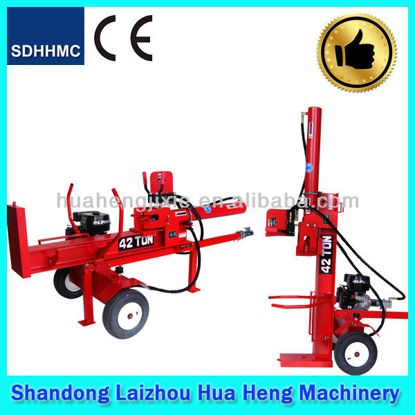 Tractor DIESEL&motor screw cheap hydraulic wood log splitter for sale with CE