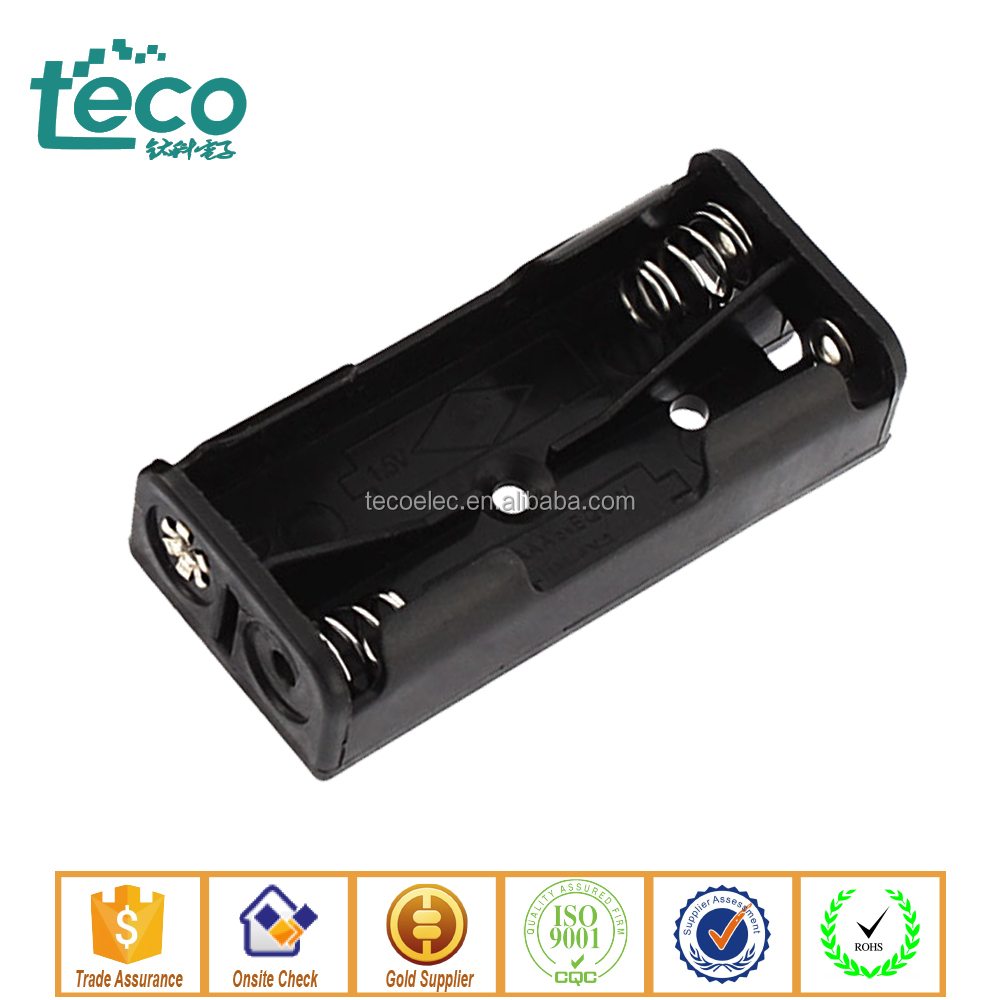 TBH-3A-2C -P Ningbo TECO 3V 2 AAA Battery Holder with PC PIN