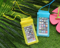 Hot new products water proof cell phone cases mobile phone PVC waterproof dry bag for iphone 7/7plus