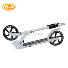 Modern design 200mm PU Wheels Adult Kick Scooter for city