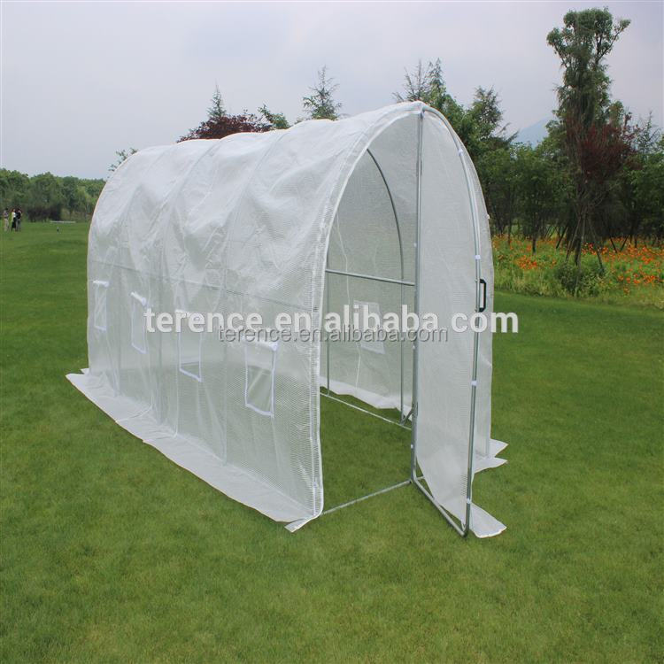 Cheap price medium aluminum growhouse farming house used commercial glass greenhouse